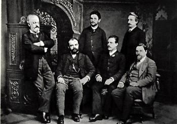 foto skladatelů pro Mozarteum