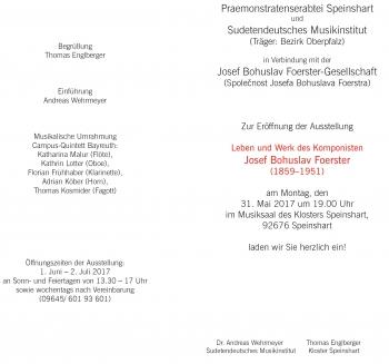 Klášter Speinshart, plakát výstavy str.2