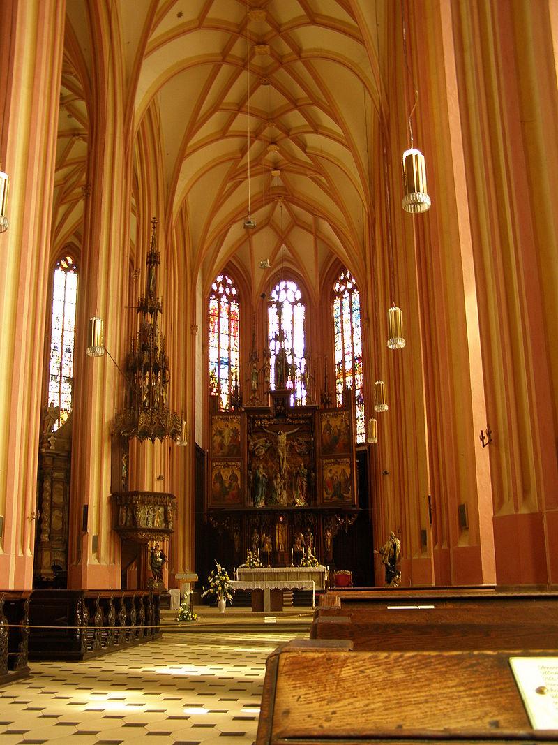Chrám sv. Mořice v Olomouci (Foto Daniel Baránek)