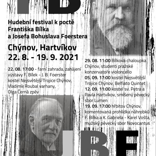 Hudební festival k poctě Františka Bílka a Josefa Bohuslava Foerstera