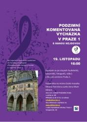 ODLOŽENO - Podzimní komentovaná vycházka v Praze 1