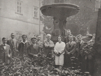 Josef Bohuslav Foerster a jeho žáci